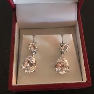 Pear Shaped Stud Earings
